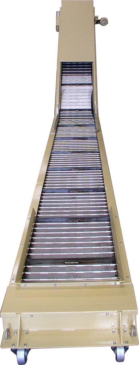 Caractéristiques Convoyeur à tapis métallique